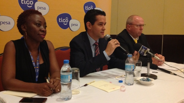 © Tigo Tanzania GM Diego Gutierrez announces Tigo Wekeza for Tigo Pesa account holders.