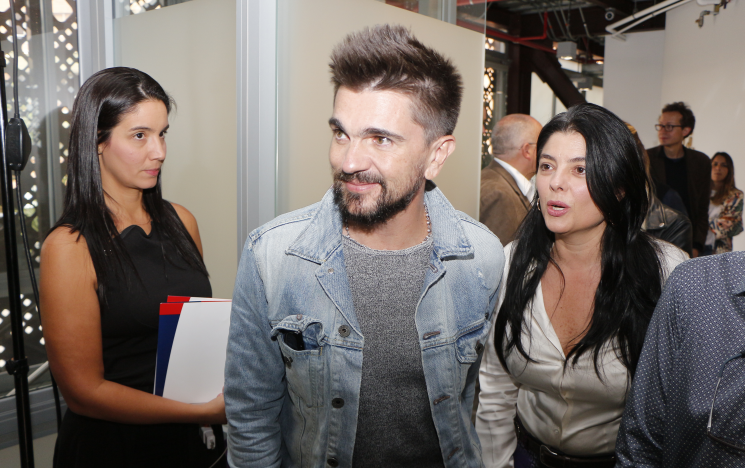 ©Juanes arrives at the TigoUNE, Fundacion Mi Sangre fundraising event in Medellin, Colombia - May 2017