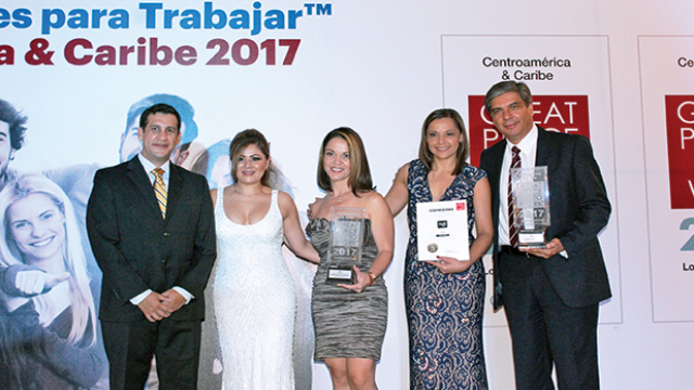© Great Place To Work Awards 2017  - Tigo Costa Rica