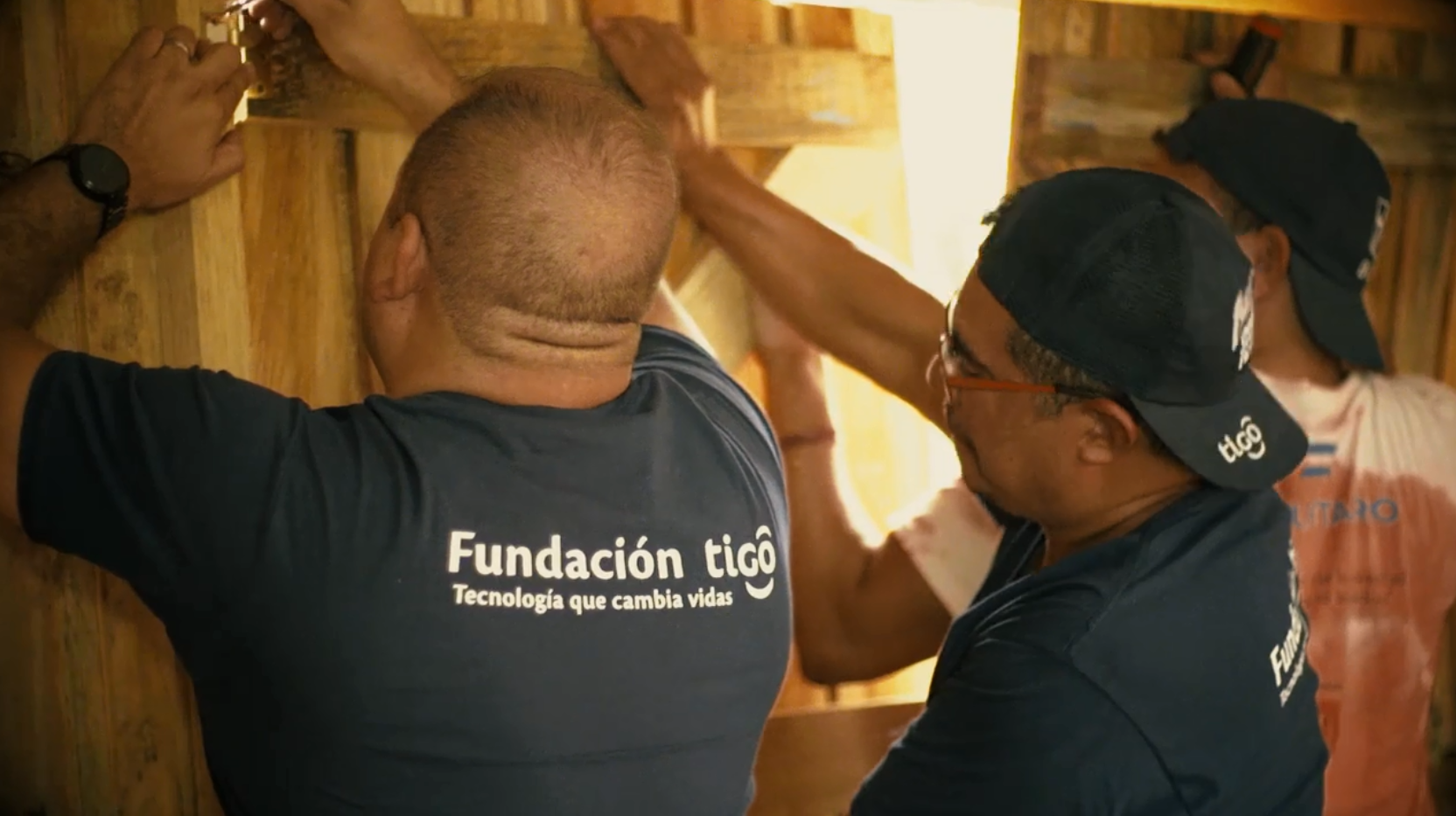 Millicom's Volunteer Days programme in action: Tigo Honduras employees dedicate their time to building and developing local communities